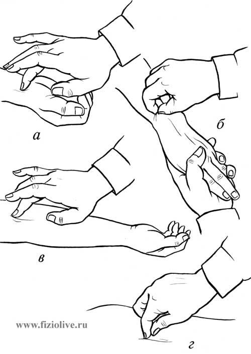 1 Техника выполнения точечного массажа