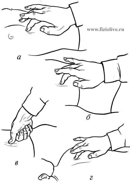 3 Техника выполнения точечного массажа