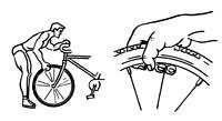 шина велосипеда тренажер