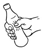 пластиковая бутылка тренажер