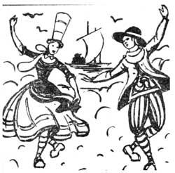 танец бранль