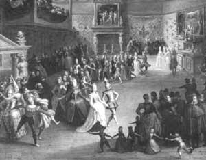 танец гальярда
