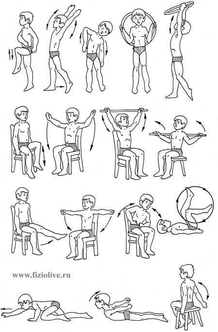 Упражнения лфк с фото и описанием