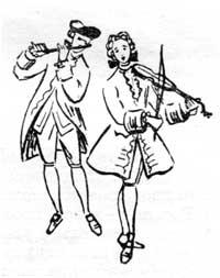 танец менуэт