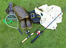 sports equipment for sports fishing