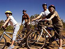 cyclists in sportswear